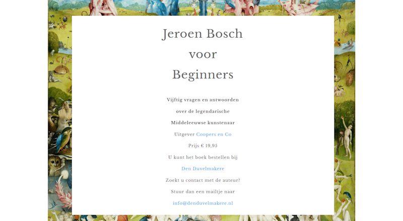 Jeroen Bosch voor Beginners